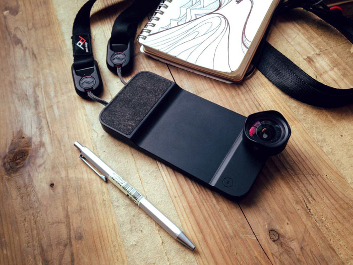 A case not only protects your phone, but can have built-in lenses for helping your smartphone photography