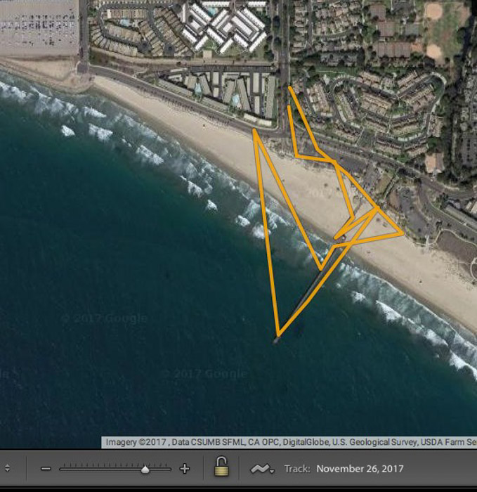 Geotagging your images will help save your location so you can return again and again for your smartphone photography