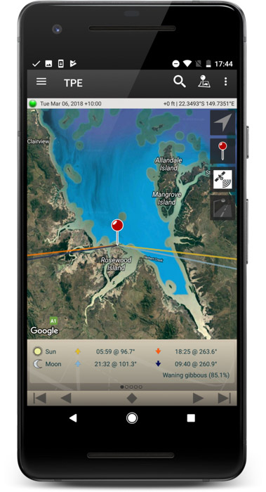 The photographers ephemeris helps you to plan your landscapes within your smartphone photography