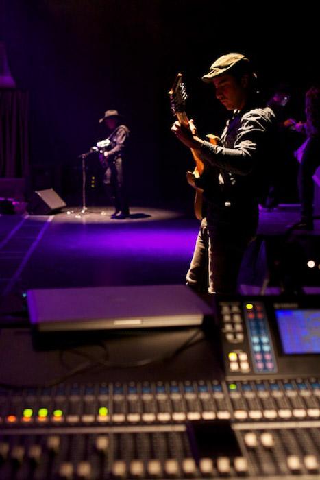 A concert photography shot using shallow dof