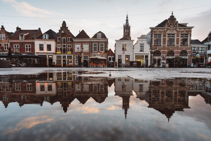 Reflections are a great compositional technique for better travel photography images