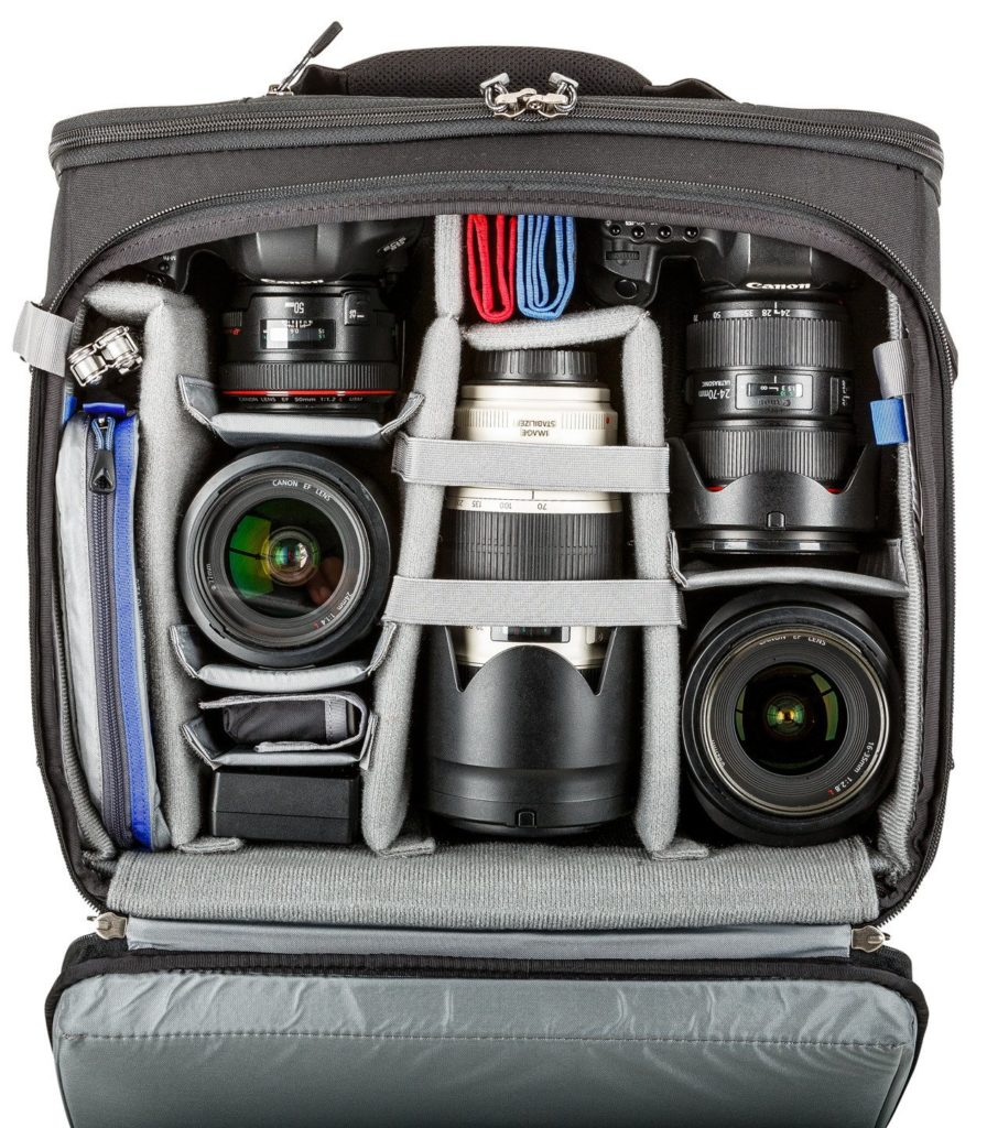 A camera bag to hold all of your equipment for wedding photography