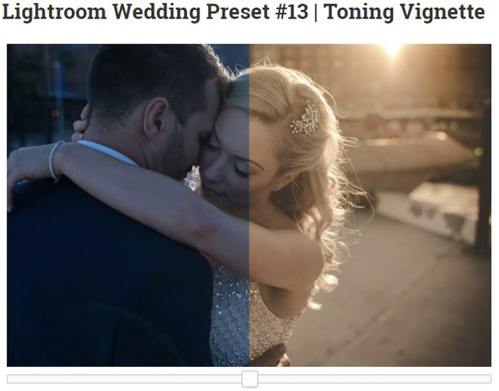 Presets are a fast and efficient way to adjust many images simultaneously