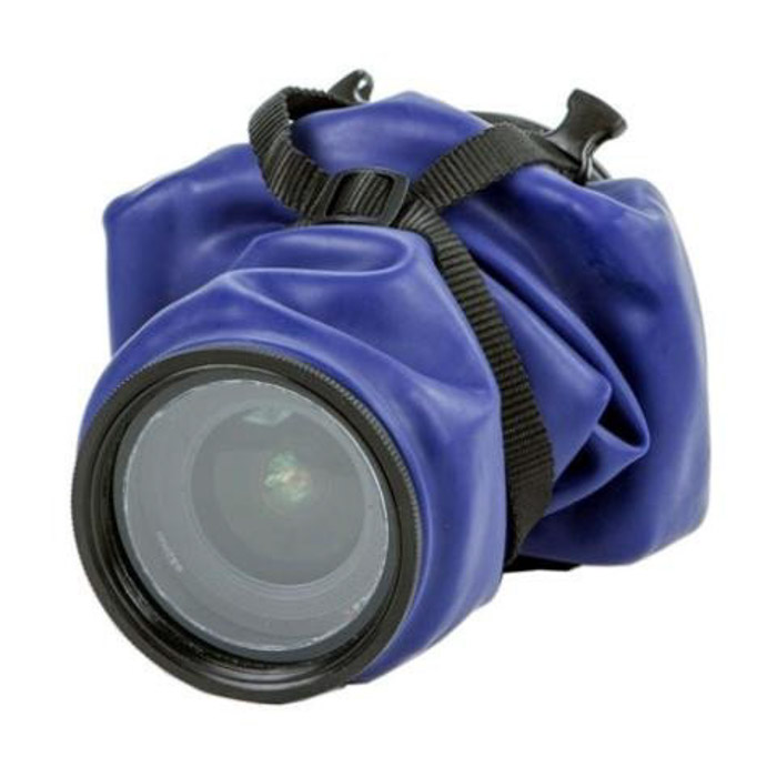 A camera cover such as the OUTEX camera cover is a great way to waterproof your camera for your adventure photography