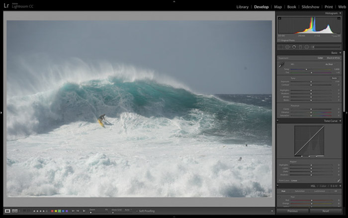 Lightroom and Photoshop are both great tools for post-processing your adventure photography