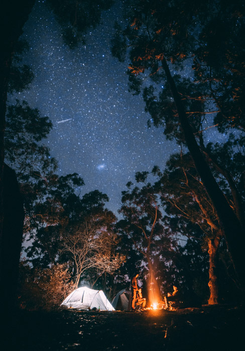 Night-time adventure photography can be challenging, but it just means the rewards are greater