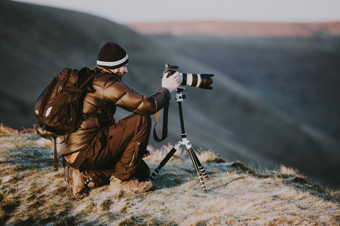 A tripod is necessary for long exposures and to ensure crisp, sharp images