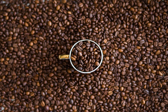 Fotografía creativa de café
