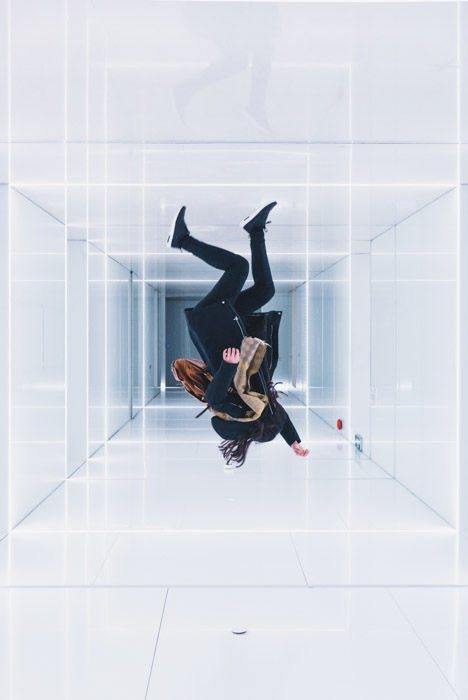Creating an anti-gravity room can help to create interest in your diy photography shoots