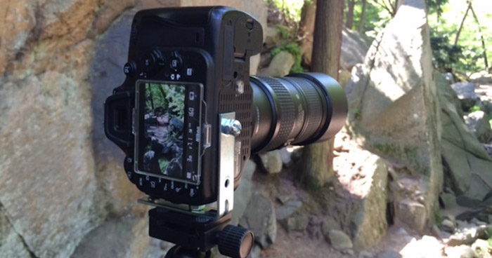 Uma placa em L o ajudará a usar a orientação de retrato para criar imagens fotográficas DIY.