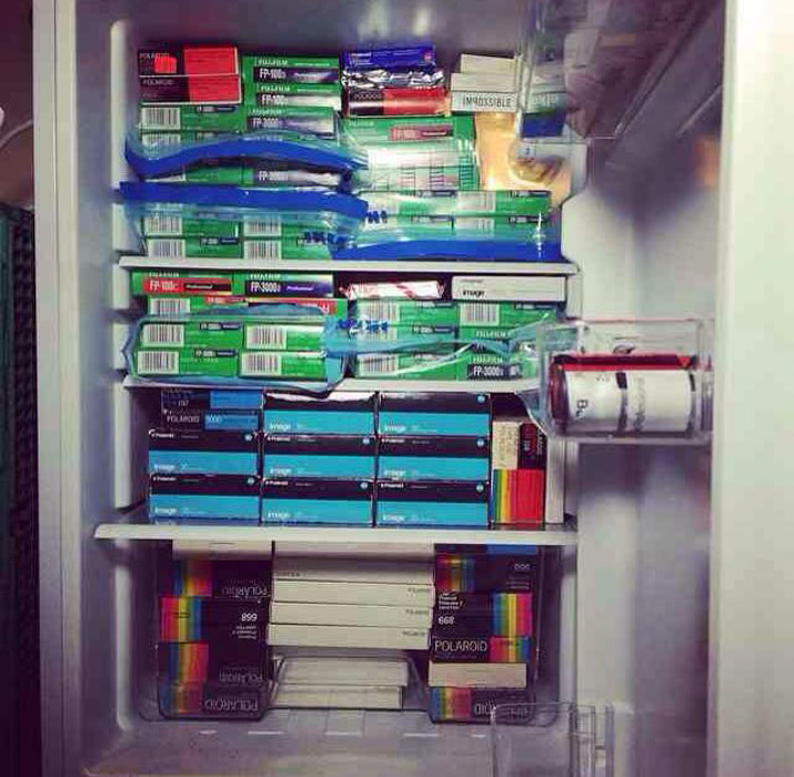 Keeping your film in a fridge will help to extend it's shelf life for better film photography