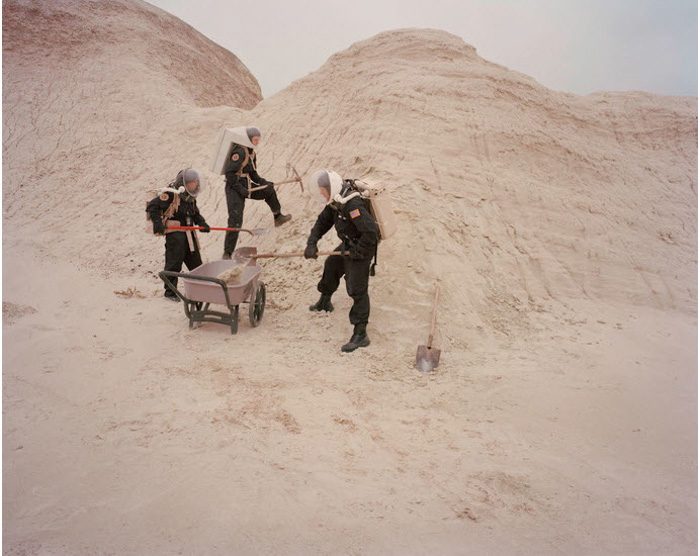 Film photo of people devoting their time living like astronauts on Mars would by Cassandra Klos - best film photographers