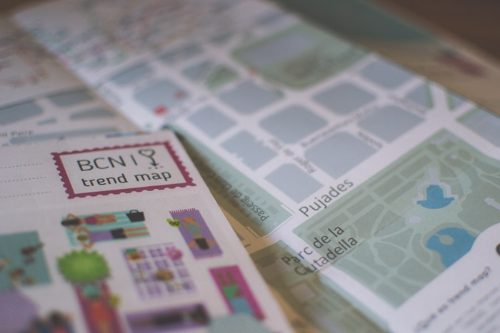Closeup of area maps - researching your photography walk