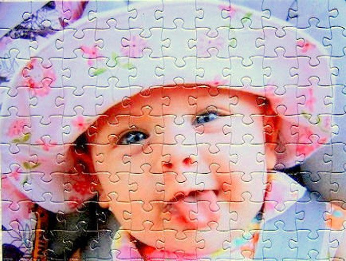 A personalised photo jigsaw - photo gifts - https://www.etsy.com/shop/themissingpiecepuzzl?ref=l2-shopheader-name
