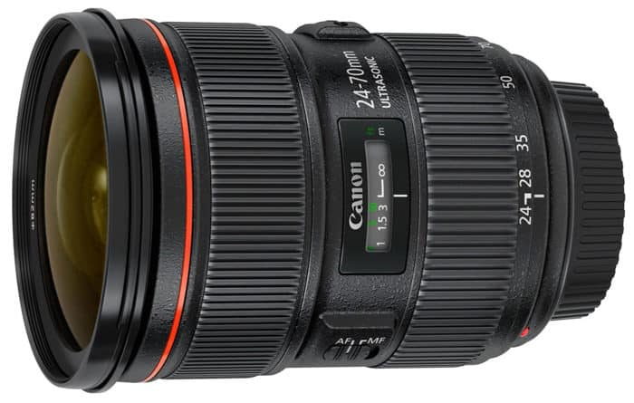 A wide angle lens for wedding photography