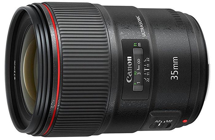 Canon 35mm prime lens