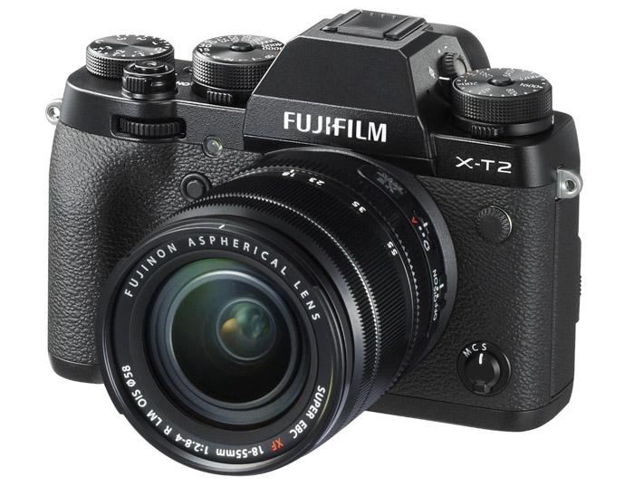 Fujifilm X-T2 mid range mirrorless camera for travel