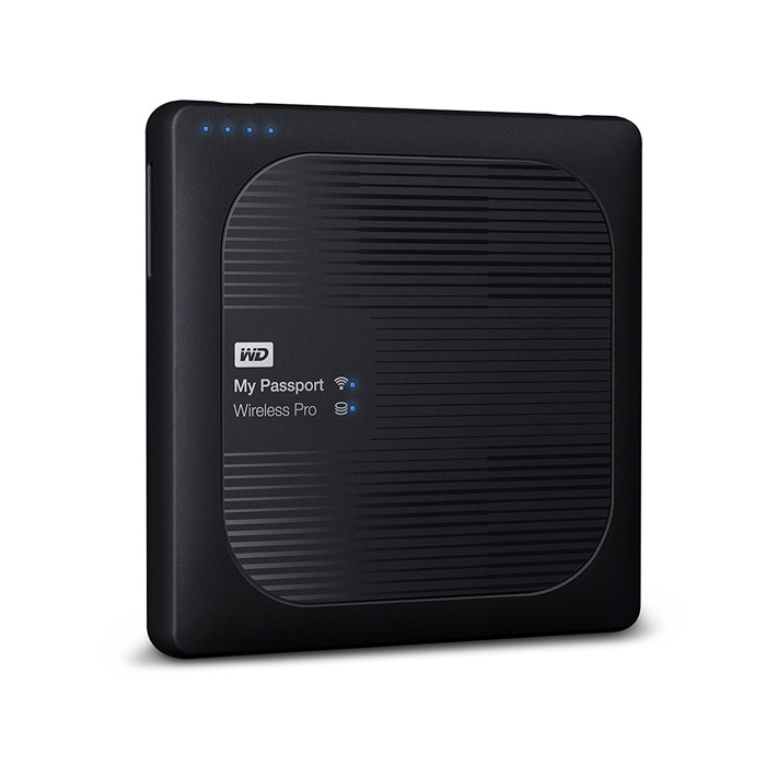 WD 4TB Wireless & Portable External Hard Drive - travel photography gifts