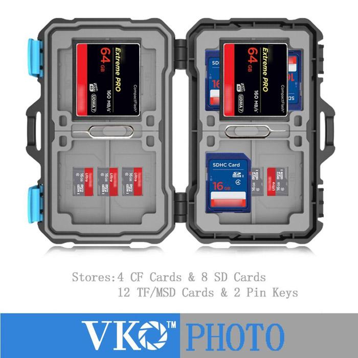 VKO Memory Card Case (SD,Micro SD, CF)