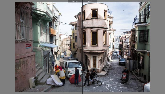 VSCO Contrast Colors (Fix The Film) best lightroom presets for street photography