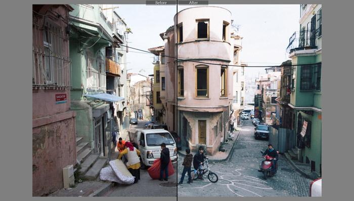 Travel Cam (Presetpro) lightroom presets for street photography