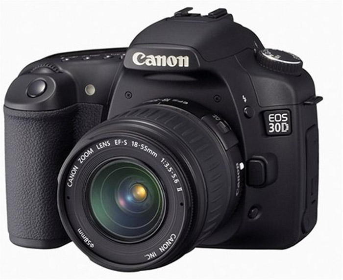 Canon 30D i time-lapse cameras