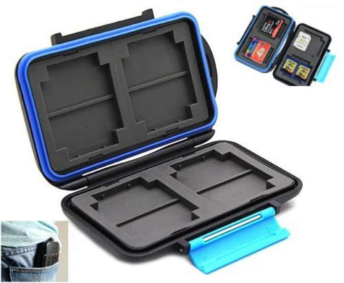 Memory Card Case camera accessories as travel photography gifts