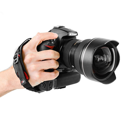 Image of a hand strap by Peak Design. Camera accessories for travel photography