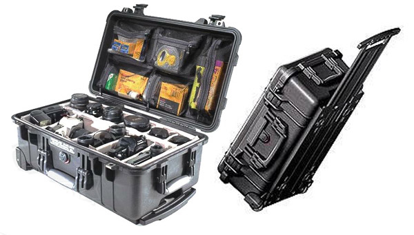 Pelican Case with Padded Dividers best camera bags
