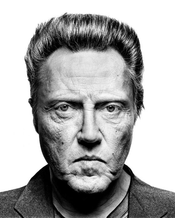 Richard Avedon portrait of Christopher Walken - famous photographers