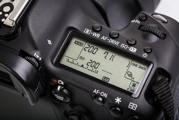 A close up of a DSLR camera