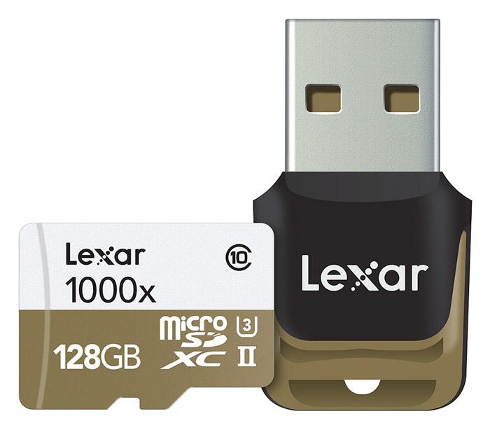 128gb Lexar MicroSD card