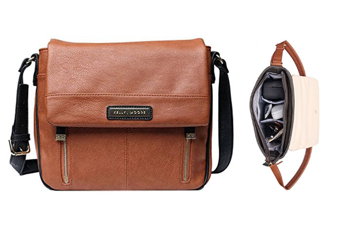Kelly Moore Luna- Walnut - stylish camera bags for women