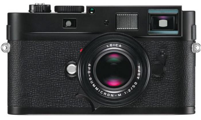 The classic Leica M Monochrom black and white camera