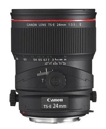 A Canon 24 mm lens