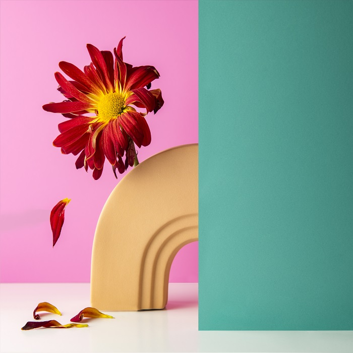 Fun product photography styling example