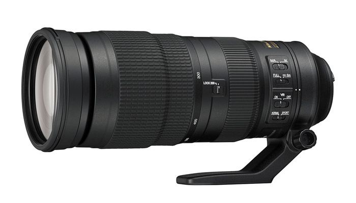 The Nikon AF-S 200-500mm f/5.6E ED VR, an affordable lens in the super telephoto category
