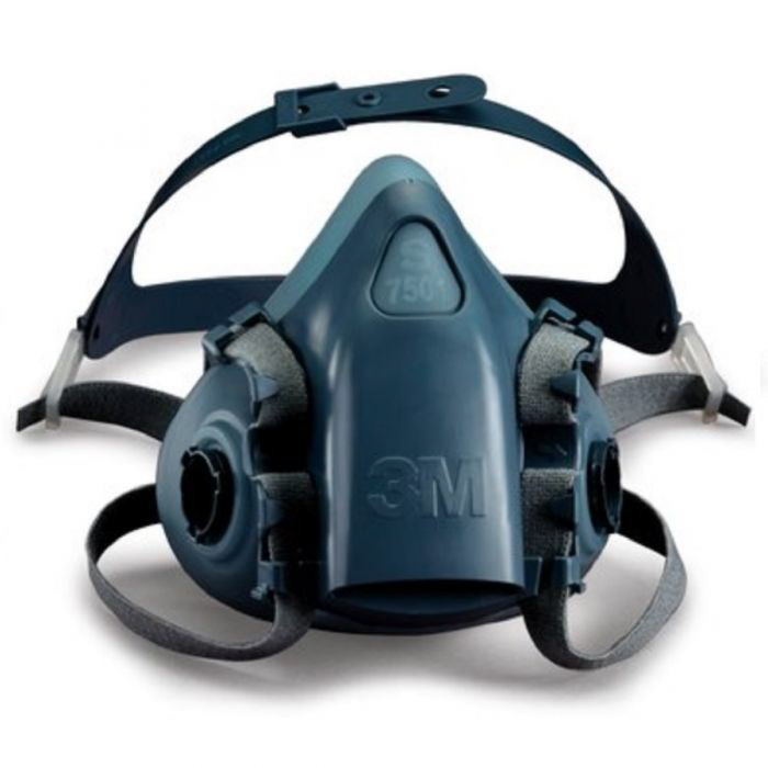 a 3M Reusable Respirator 7503 on white background