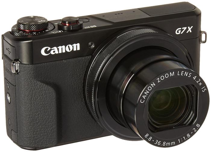 A Canon G7x Mark 2