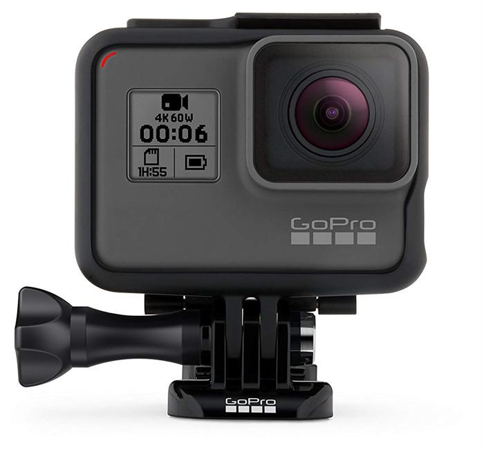 The Go Pro Hero6 best travel camera