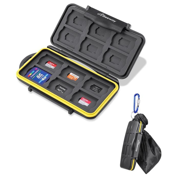 Image of the Beeway Tough Memory Card Case Holder