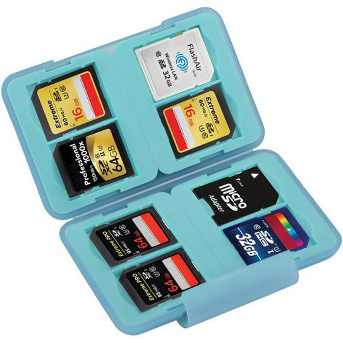 Ruggard Memory Card Case - best memory cards case and sd card holder