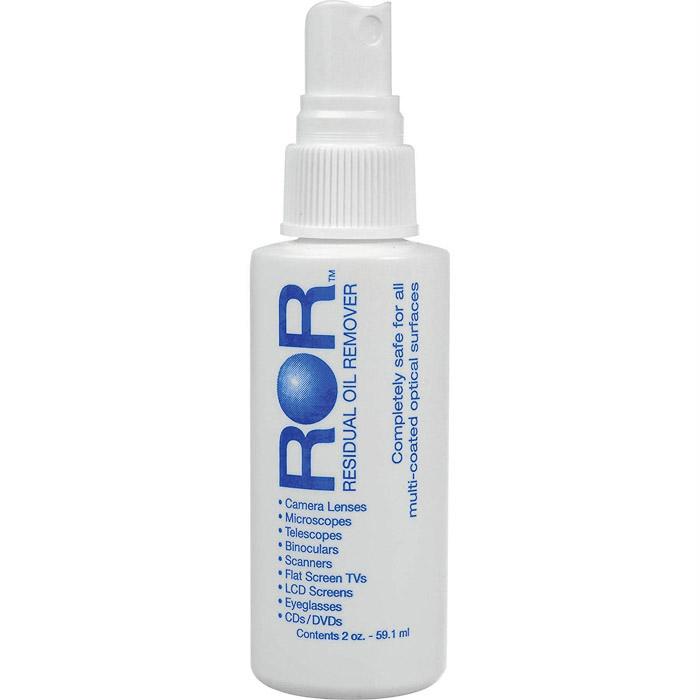 ROR Optical Lens Cleaner 2 Oz Spray Bottle on white background