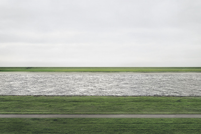 Rhein II by Andreas Gursky -  most expensive photographs ever sold