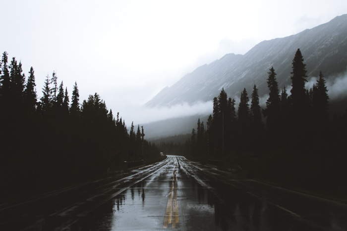 A stock photo of a roadway