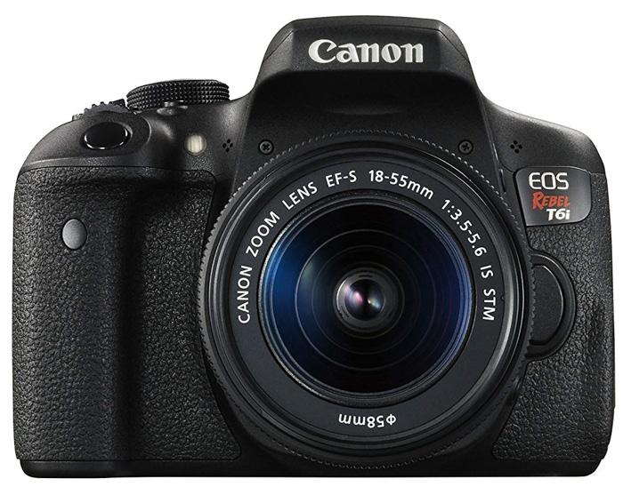 Canon T6i camera