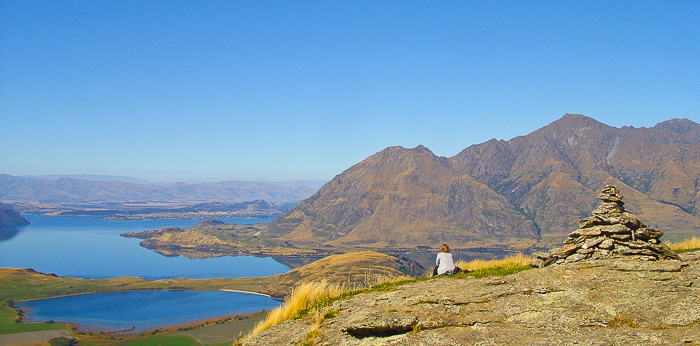 A stunning shot of a mountainous landscape - magazine photography tips