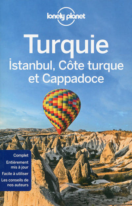 The cover of Lonely Planets guide to Turkey - tips on photography submissions