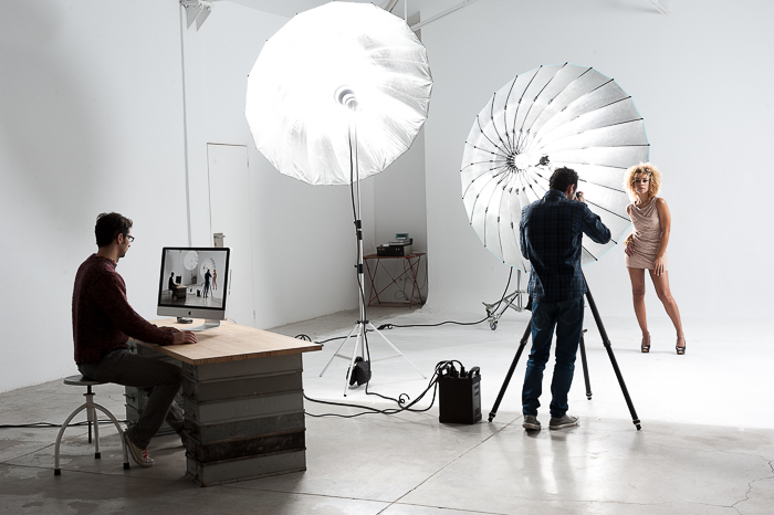 A fashion photography photo shoot - submit photos to magazines