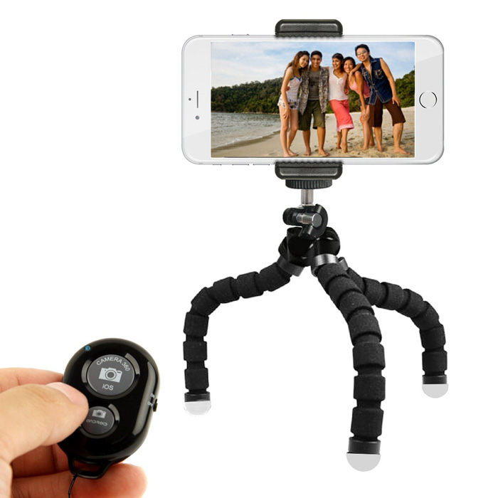 The KobraTech Flexible android or iPhone tripod - best iPhone tripod picks